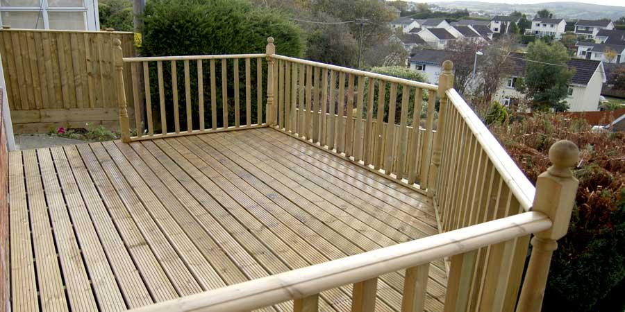 Decking Services | Decking Installation | Decking Contractors | Higham Landscapes